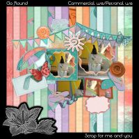 In the Summertime - ScrapBook Pack by YoonAsGeneration