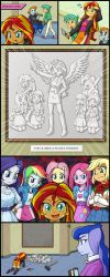 COMIC -Sunset Shimmer- by uotapo