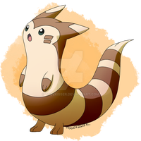 Pokeddexy: Favorite Normal Type - Furret by Togekisser