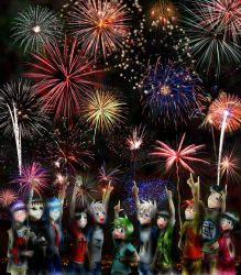 Ready for New Year 2011 by UnknownSoulCollector