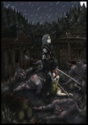 Witcher: The deed is done by Hunter-Wolf