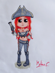 Chibi Miss Fortune by Mylene-C