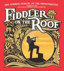 Fiddler of the Roof Logo and Art by GoaliGrlTilDeath