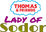 Thomas Friends: Lady of Sodor logo by TrainboysArtwork