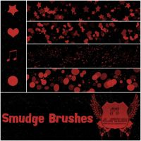 Smudge Brushes by favo123