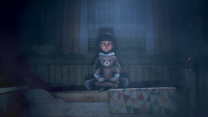 [SFM] A girl in her room with a bear by Coletrain-Z