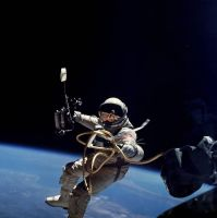 Ed White First American Spacewalk by GeneralTate