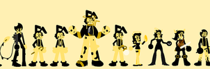 Bendy and the Ink Machine [Save the Light] by mafernanda2016
