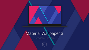 Material Wallpaper 3 by TheButterCat