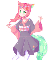 [AB Commission] Colourful Energy by Kawaii-Says-Meow