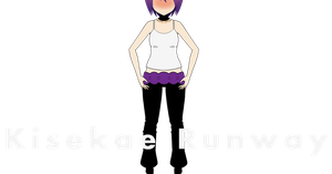 Kisekae Runway - Yoga Pants by XxChellie-DawgxX