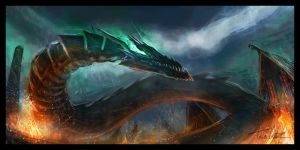 Dragon (Speedpainting) by TWPictures