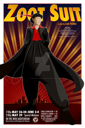 Zoot Suit- Promo Poster by GoaliGrlTilDeath