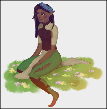 Flower child by Dreamsnare