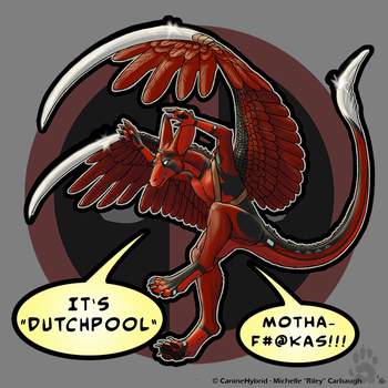 Dutchpool Badge by CanineHybrid