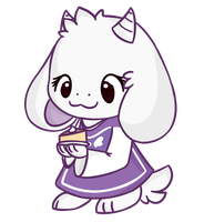 Toriel ^w^ by RonniePonnie