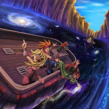 Spectrum of Mana: The Boat's A Bit Unsteady by LightningArts
