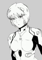 Rei Ayanami by TheFresco