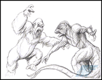 Commission - Kong vs Ymir by AlmightyRayzilla