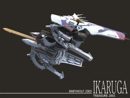 Ikaruga Wallpaper 001 by Babywolf2918