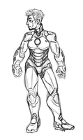the best tony stark there ever was by VCR-WOLFE
