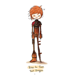 Hiccup by Celeii