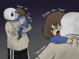 Undertale Doodles - Nightmares by AishaPachia