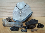White Dire Wolf Spirit Pendant with Collection by DaybreaksDawn