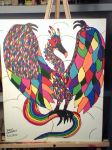 The Rainbow Dragon Bird by DrewCarriker6231993