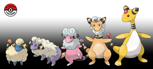 179 - 181 Mareep Line by InProgressPokemon