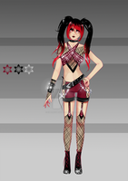 (closed) BUY NOW - Pretty in Punk Outfit 3 by CherrysDesigns