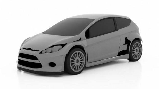 Ford Fiesta WRC WIP by Walter-NEST
