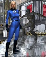Invisible Woman by sturkwurk