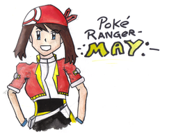 Pokemon Ranger May-Coloured by Ford206