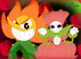 AT: Rosalene and Cagney Carnation by FairyAurora