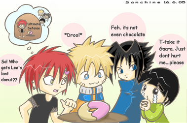 naruto - the donut by sanchine