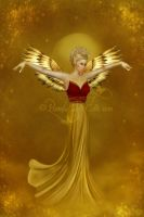 Angel of The Golden Light by ImaginedMoments
