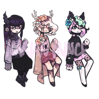 (CLOSED) Floraums | Batch 1 by star-stickers