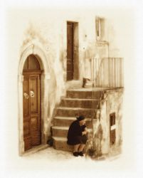 Lady from Scanno - Italy by Hassan9