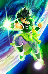 Broly by MolochTDL