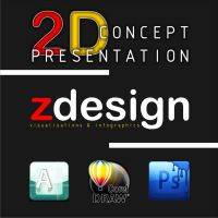 2d_concept icon... by Zorrodesign