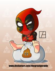 Deadpool Chibi by The-Great-Geraldo