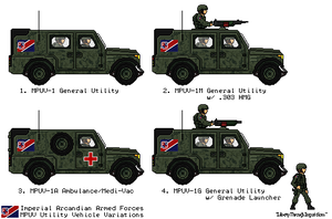 Imperial Arcandian Utility Vehicle [JG - Cold War] by AdmiralSerenity