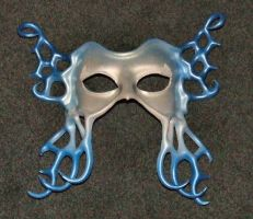 Leather Mask - Winter Frost by xothique