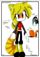 New Oc! (Not mine) Ru The Racoon by Coffee-Karin