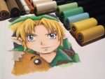 Link and the Goron Mask by LaraWegenaerArts