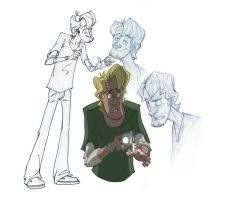 Shaggy Scooby Doo by coldicebg