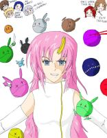 Lacus and the Haro Army by yzak