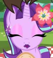 Starlight About to Kiss me During our Date: My POV by BrandonTheUnicorn