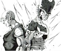 piccolo and cell by trunks24